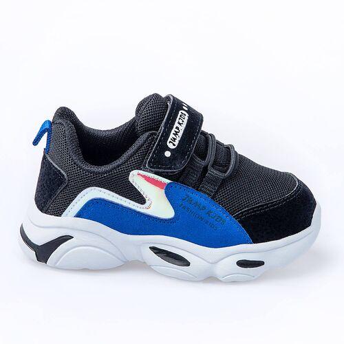 Jump 25833 Siyah - Royal Mavi Uniseks Çocuk Spor Ayakkabı