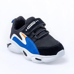 Jump - Jump 25833 Siyah - Royal Mavi Uniseks Çocuk Spor Ayakkabı (1)