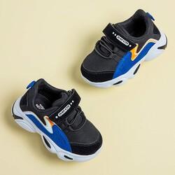 Jump 25833 Siyah - Royal Mavi Uniseks Çocuk Spor Ayakkabı - Thumbnail