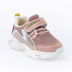 Jump - Jump 25833 Somon Pembe - Bej Uniseks Çocuk Spor Ayakkabı (1)