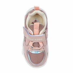 Jump 26056 Açık Pembe - Yeşil Uniseks Çocuk Spor Ayakkabı - Thumbnail