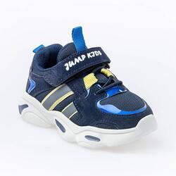 Jump - Jump 26056 Lacivert - Royal Mavi - Sarı Uniseks Çocuk Spor Ayakkabı (1)