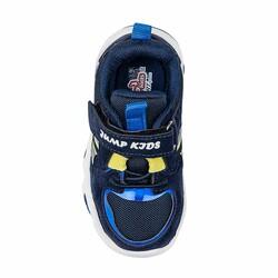 Jump 26056 Lacivert - Royal Mavi - Sarı Uniseks Çocuk Spor Ayakkabı - Thumbnail