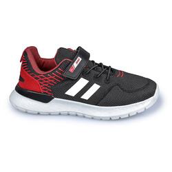 Jump - Jump 26091 Siyah - Kırmızı Uniseks Çocuk Spor Ayakkabı