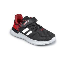 Jump - Jump 26091 Siyah - Kırmızı Uniseks Çocuk Spor Ayakkabı (1)