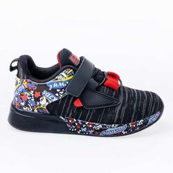 Jump - Jump 26092 Siyah - Kırmızı Uniseks Çocuk Spor Ayakkabı