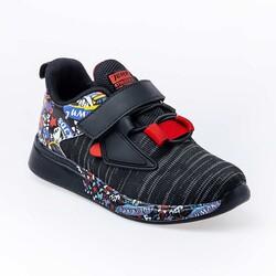 Jump - Jump 26092 Siyah - Kırmızı Uniseks Çocuk Spor Ayakkabı (1)