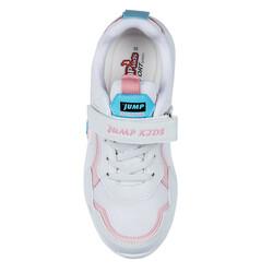 Jump 26093 Beyaz - Mavi - Pembe Kız Çocuk Spor Ayakkabı - Thumbnail