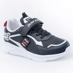 Jump - Jump 26093 Siyah - Beyaz - Kırmızı Uniseks Çocuk Spor Ayakkabı (1)