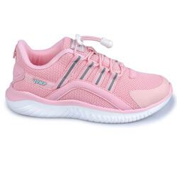 Jump - Jump 26095 Pembe - Beyaz - Gri Kız Çocuk Spor Ayakkabı