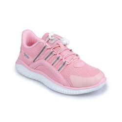 Jump - Jump 26095 Pembe - Beyaz - Gri Kız Çocuk Spor Ayakkabı (1)