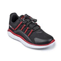 Jump - Jump 26095 Siyah - Kırmızı Uniseks Çocuk Spor Ayakkabı (1)