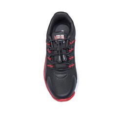 Jump 26095 Siyah - Kırmızı Uniseks Çocuk Spor Ayakkabı - Thumbnail