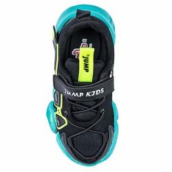 Jump - Jump 26133 Siyah - Neon Yeşil - Gri - Beyaz Uniseks Çocuk Spor Ayakkabı (1)
