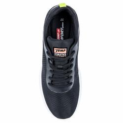 Jump 26226 Siyah - Pembe - Neon Yeşil Kadın Spor Ayakkabı - Thumbnail