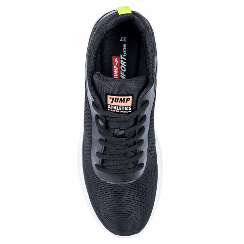 Jump 26226 Siyah - Pembe - Neon Yeşil Kadın Spor Ayakkabı
