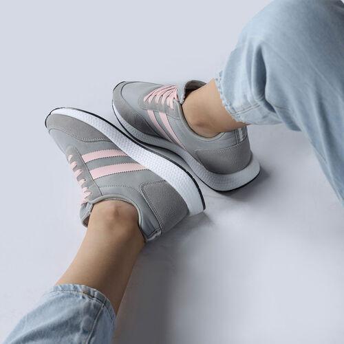 Jump 26231 Açık Gri - Açık Pembe Kadın Spor Ayakkabı