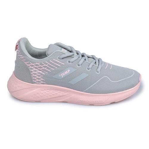 Jump 26263 Açık Gri - Somon Pembe Kadın Spor Ayakkabı
