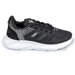 Jump - Jump 26263 Siyah - Gümüş Kadın Spor Ayakkabı