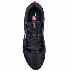 Jump 26384 Siyah - Koyu Gri - Bordo Erkek Spor Ayakkabı - Thumbnail