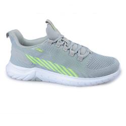 Jump - Jump 26441 Açık Gri - Neon Yeşil Erkek Spor Ayakkabı