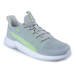 Jump - Jump 26441 Açık Gri - Neon Yeşil Erkek Spor Ayakkabı (1)