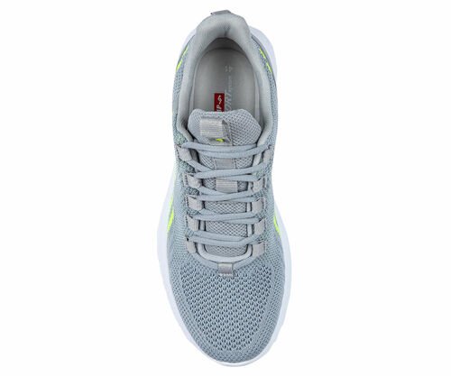 Jump 26441 Açık Gri - Neon Yeşil Erkek Spor Ayakkabı