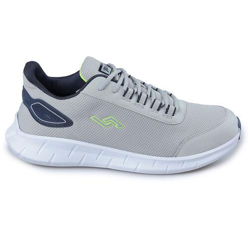 Jump 26446 Açık Gri - Lacivert - Neon Yeşil Erkek Spor Ayakkabı