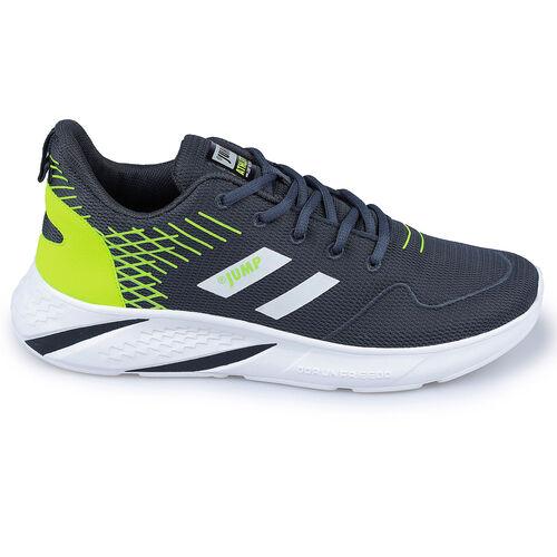 Jump 26468 Lacivert - Neon Yeşil Erkek Spor Ayakkabı