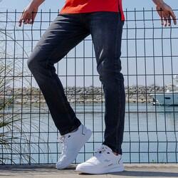 Jump 26479 Beyaz - Siyah - Kırmızı Erkek Spor Ayakkabı - Thumbnail