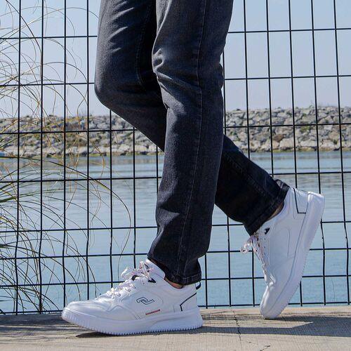 Jump 26479 Beyaz - Siyah - Kırmızı Erkek Spor Ayakkabı