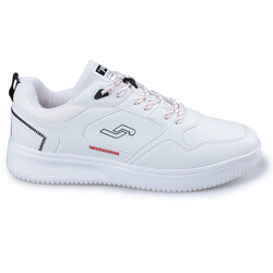 Jump - Jump 26479 Beyaz - Siyah - Kırmızı Erkek Spor Ayakkabı