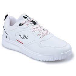 Jump - Jump 26479 Beyaz - Siyah - Kırmızı Erkek Spor Ayakkabı (1)