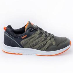 Jump - Jump 26486 Haki - Siyah - Turuncu Erkek Spor Ayakkabı
