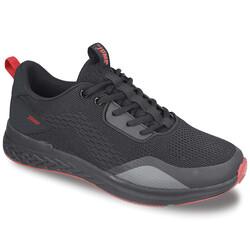 Jump - Jump 26502 Siyah - Kırmızı Erkek Spor Ayakkabı