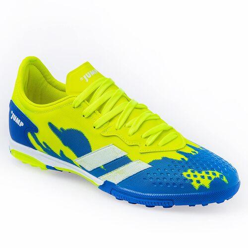 Jump 26520 Neon Yeşil - Royal Mavi Erkek Krampon