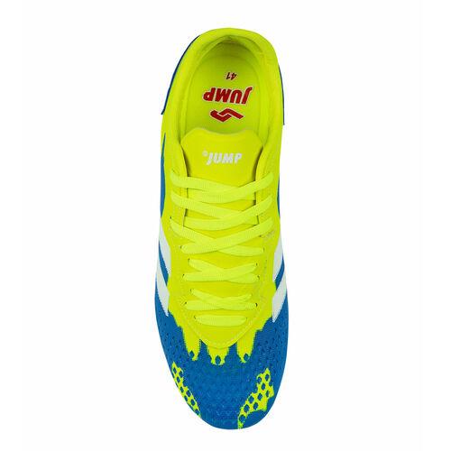 Jump 26521 Neon Yeşil - Royal Mavi Erkek Çim - Halı Saha Krampon