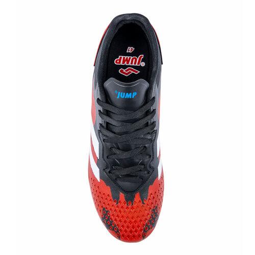 Jump 26521 Siyah - Kırmızı - Royal Mavi Erkek Çim - Halı Saha Krampon