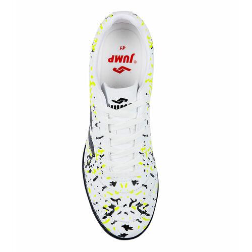 Jump 26522 Beyaz - Siyah - Neon Yeşil Erkek Krampon
